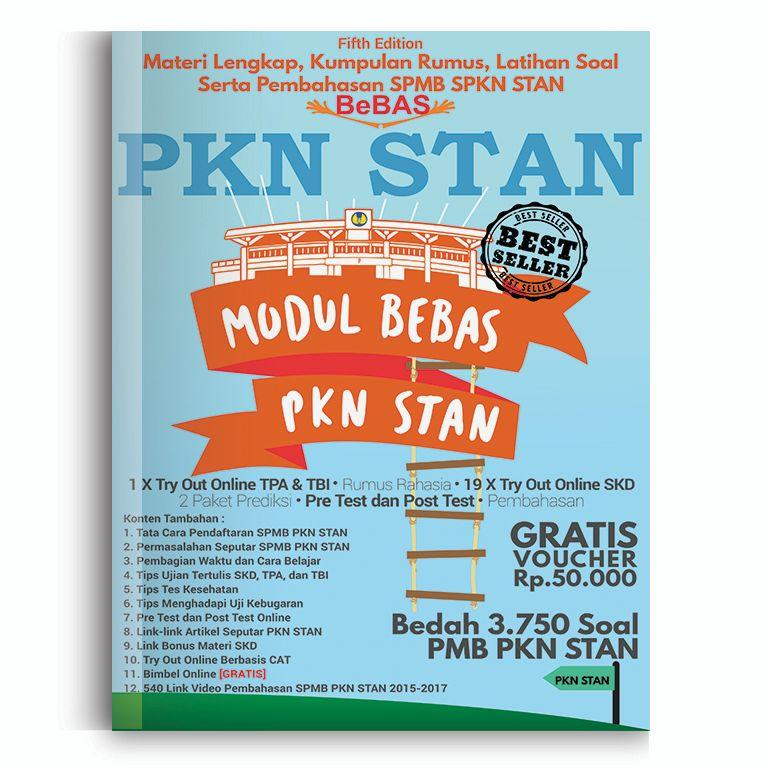Buku STAN Modul Bebas Fifth Edition Persiapan PMB PKN STAN