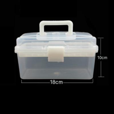 Tattoo Tool Box Storage Box Embroidery Machine Box Manicure Supplies Tool Box Transparent Placed Box Organizing Storage Box Philippines