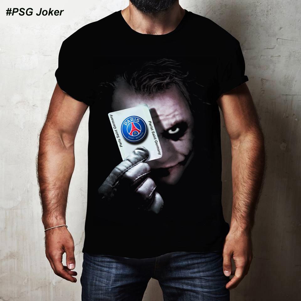 Kaos 3D PSG Joker