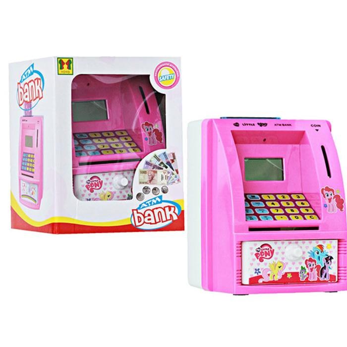 PALING DICARI CELENGAN ATM LITTLE PONY WITH MONEY MAINAN EDUKASI EDUKATIF ANAK TERLARIS