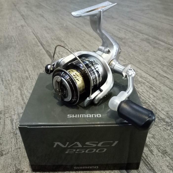 BEST SELLER!!! Reel Pancing Shimano Nasci 2500 4+1 bb - tM8KP9
