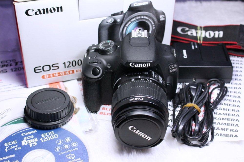 Kamera Canon EOS 1200D + 18-55mm