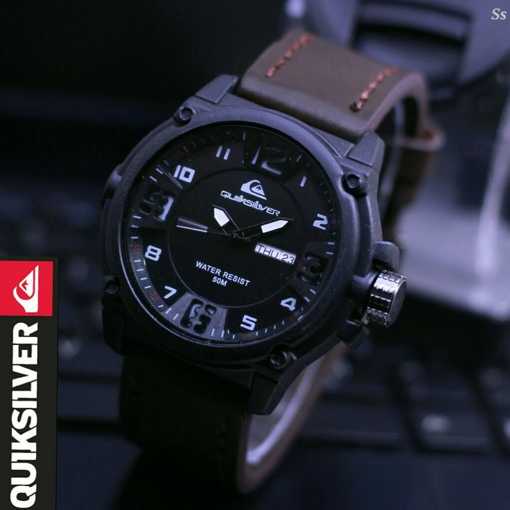 Jam tangan remaja / dewasa / jam tangan quicksilver outgear / jam tangan kasual swiss army / jam tangan sport / jam tangan kasual / jam tangan fashion