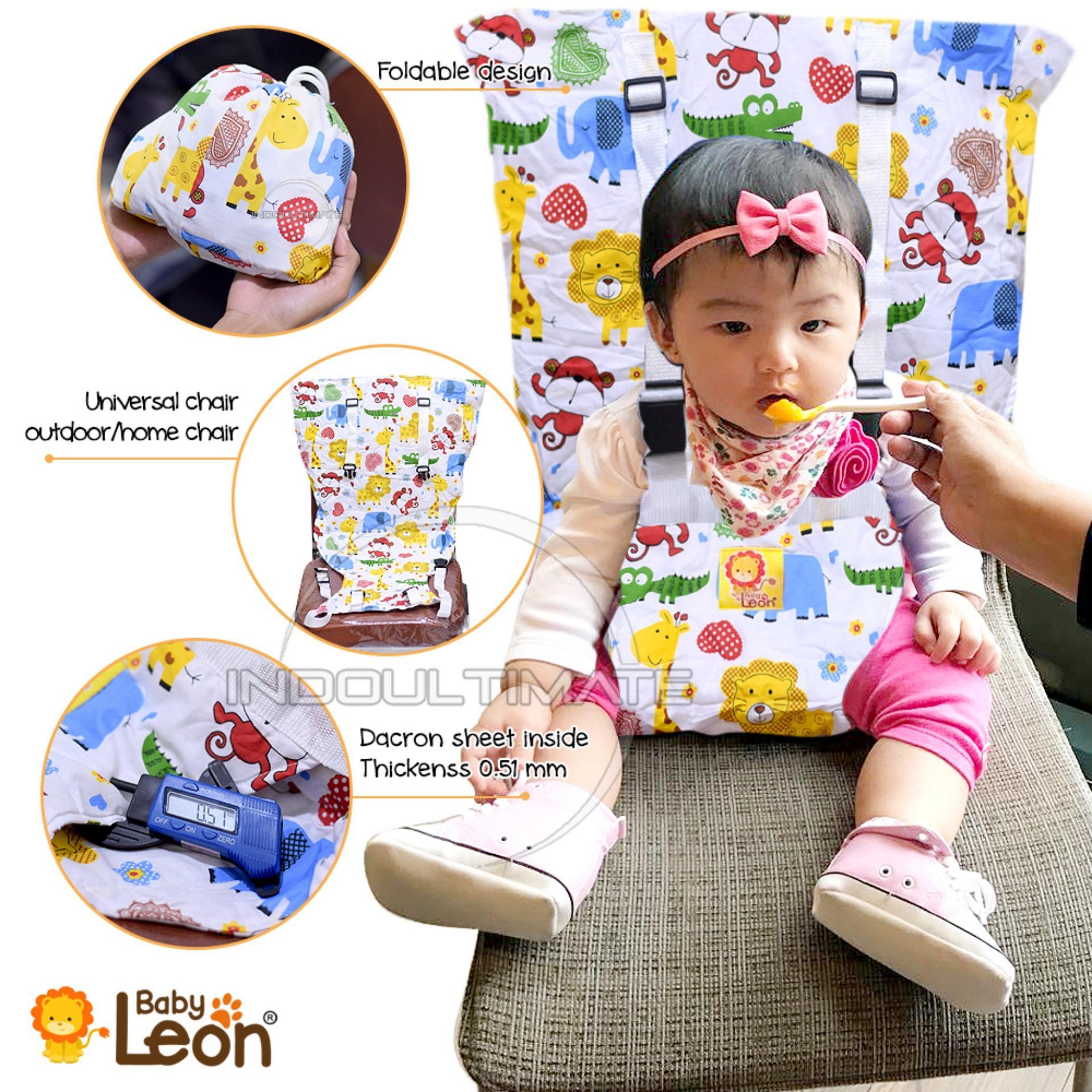Pengaman Duduk Bayi Universal Kursi BABY LEON / Portable Baby safety chair cover sack n seat SC-12