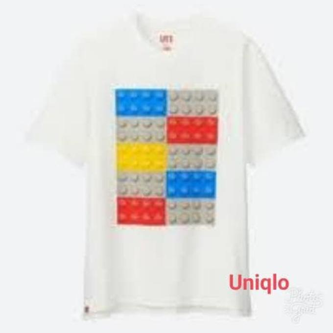 Kaos Uniqlo Lego Men T-Shirt Original - Sale Promo!!