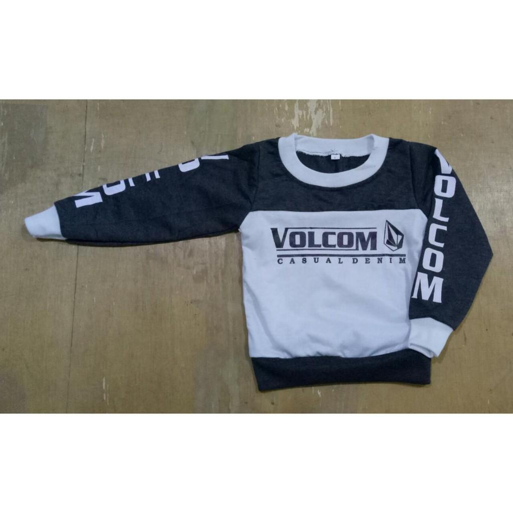 KP Kaos Sweater Anak 1-16Th/Atasan Anak Cowok/Kaos Anak/Sweater Anak/Uk Fit S-XXXL- VOLCOM