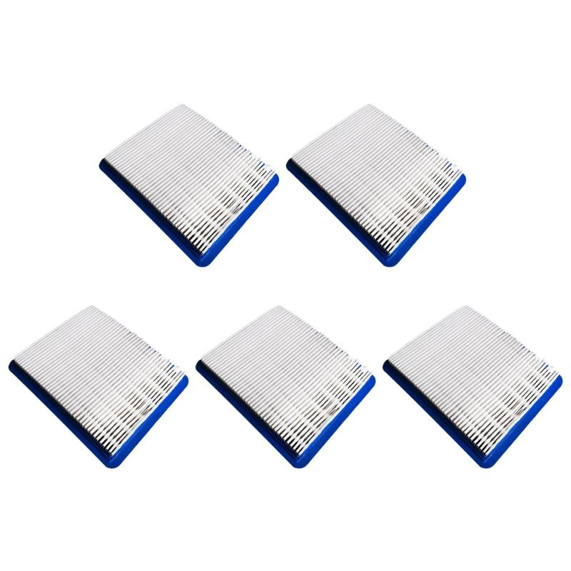 Bảng giá 5 PCS 491588 Air Filter Replace for Briggs Stratton 491588 Air Cleaner Cartridge Lawn Mower Air Filter - intl