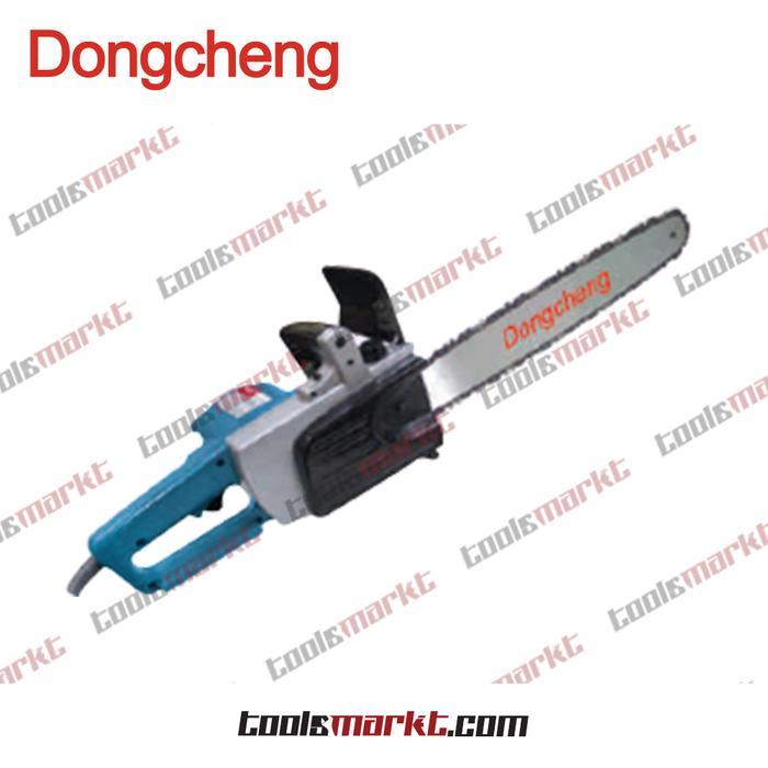 ORIGINAL - Dongcheng DML-405 Gergaji Listrik Kayu Dahan Pohon Chain Saw DML405