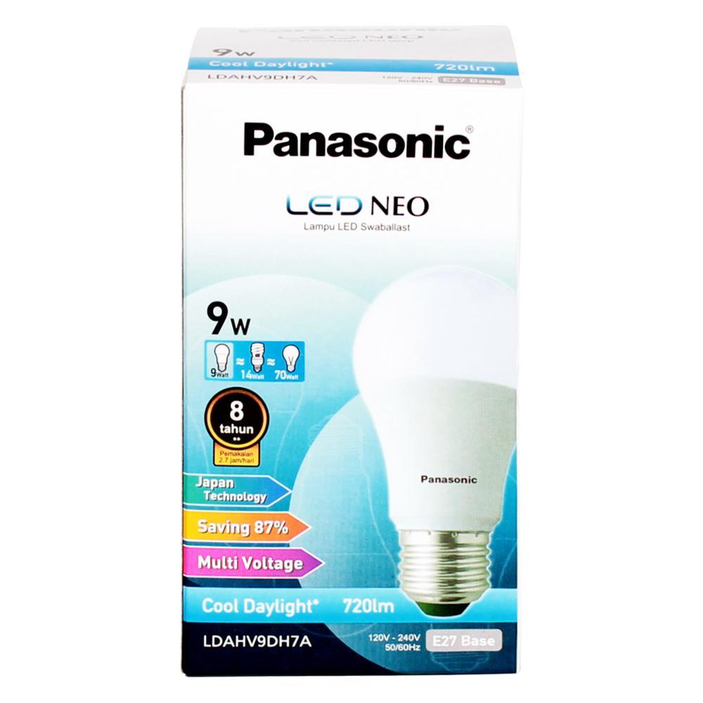 Panasonic Lampu Led Neo Cool Daylight 9 Watt - LDAHV9DH7A