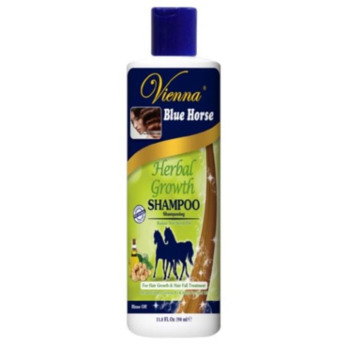 Shampoo Vienna Cap Kuda Biru Herbal Growth