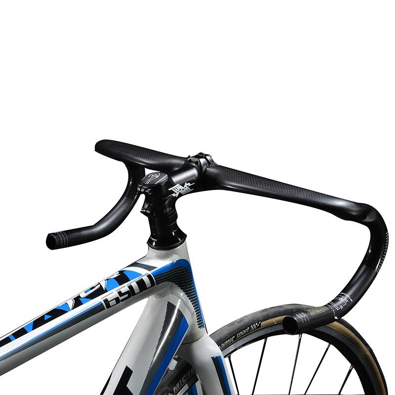ROCKBROS Setang (Handle) Sepeda Balap Bahan Serat Karbon