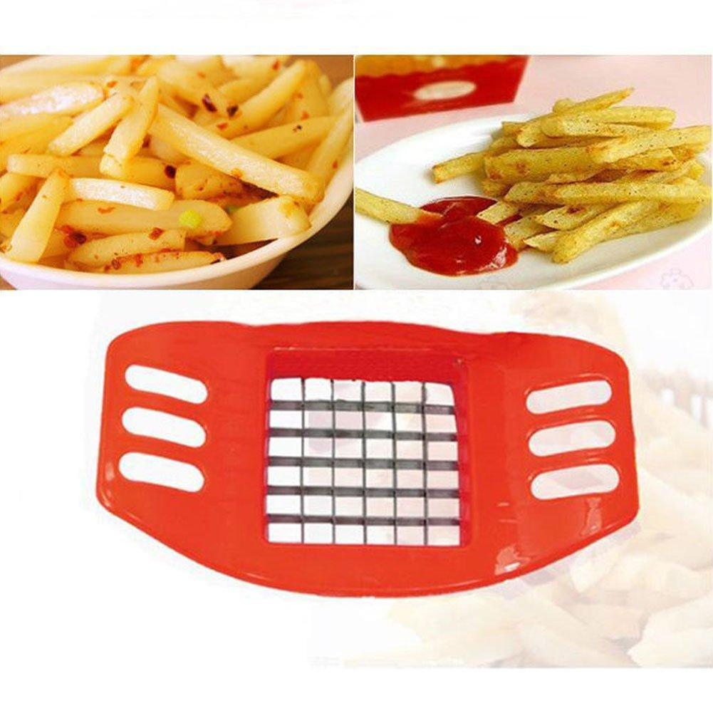 Detail Gambar Potato Cutter Slicer Chopper French Fries Pemotong Pisau Kentang Potato Cutter - Slicer Chopper