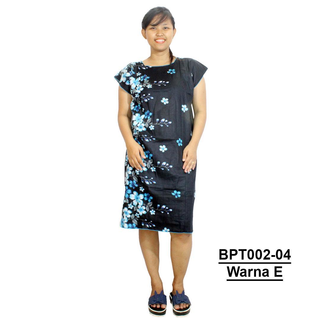 Midi, Daster Midi, Dress Santai, Baju Tidur, Piyama, Atasan Batik (BPT002-04) Batikalhadi Online