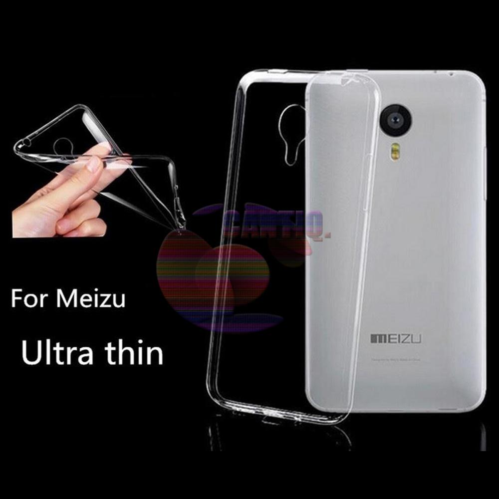 Icantiq Ultrathin TPU Softcase Jelly Meizu M2 Note Luxury Softcase Anti Jamur Air Case 0.3mm / Silicone Meizu M2 Note Soft Case / Silikon / Case Hp / Jelly Case / Softshell Meizu M2 Note - Putih Transparant