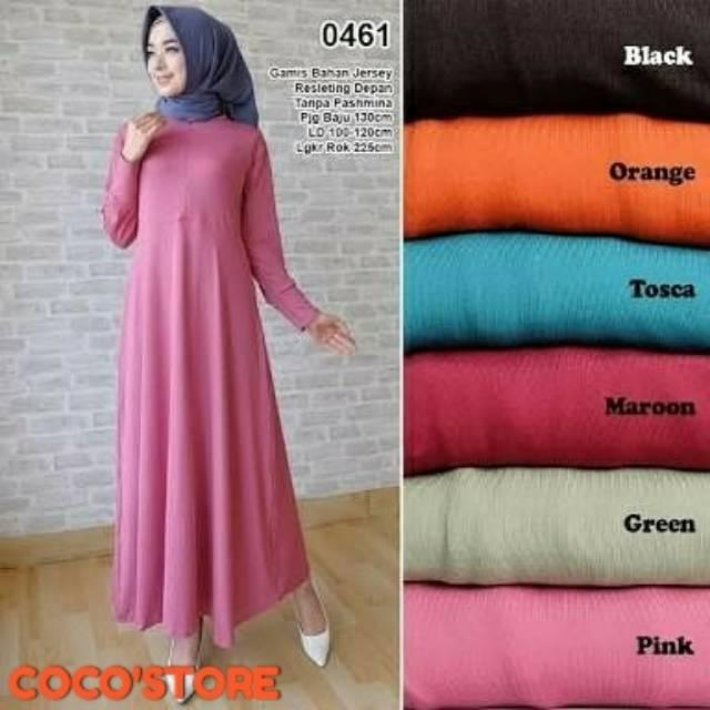 GAMIS JERSEY POLOS BUSUI  GAMIS JERSEY POLOS  GAMIS JERSEY
