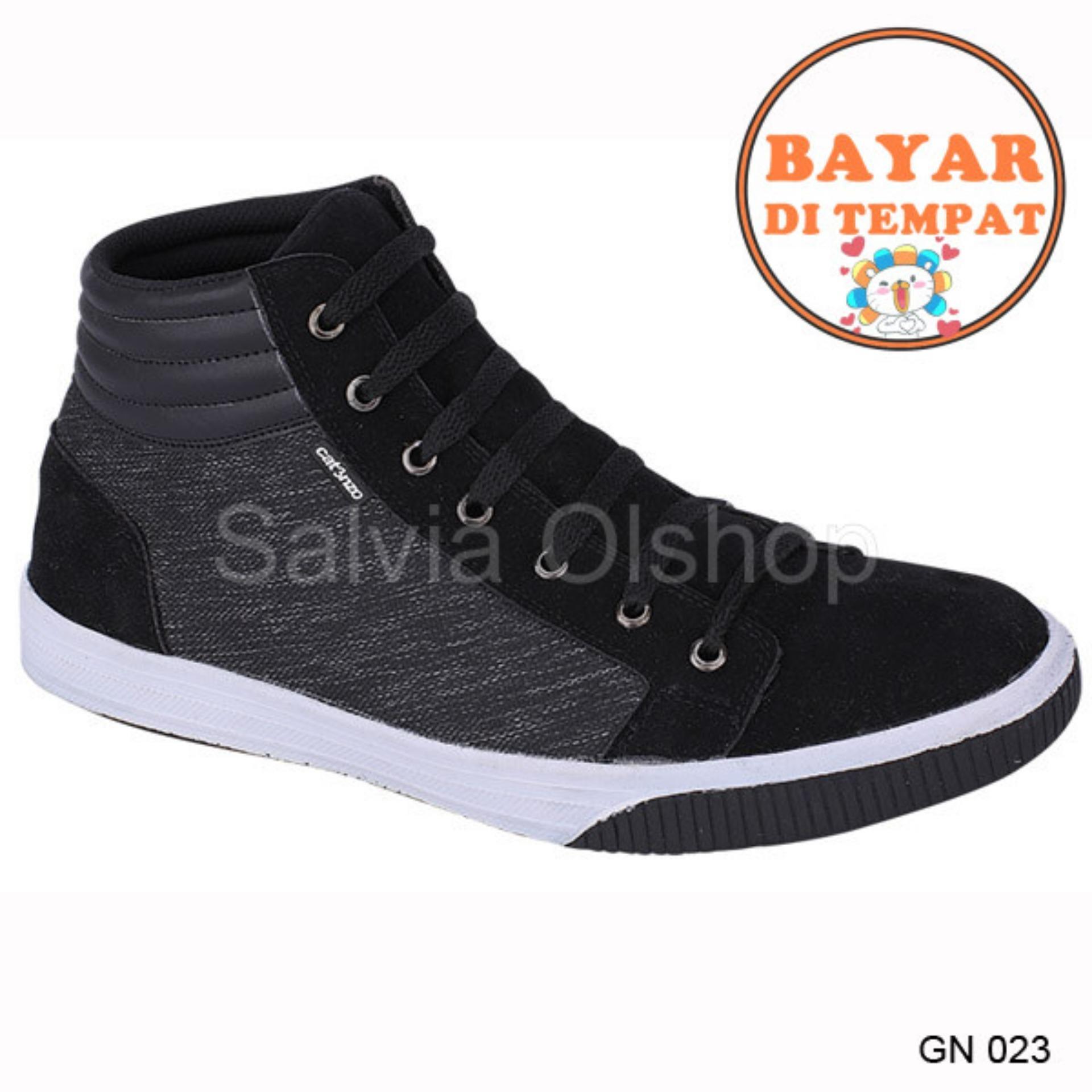 Catenzo Sepatu Sneakers Pria Keren Dan Modis GN 023 - Abu-Abu