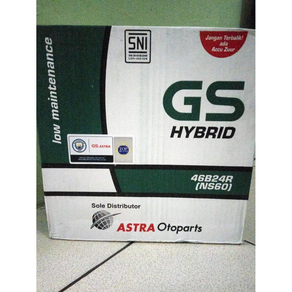 Aki Mobil Gs Astra Accu Mf Ns 40zl aki mobil gs astra hybrid ns60 putih daftar