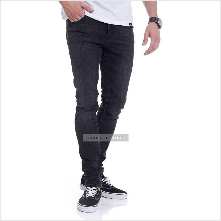 DnR Celana jeans Denim Pria Original Premium - BLackJazz Skinny Slim Fit