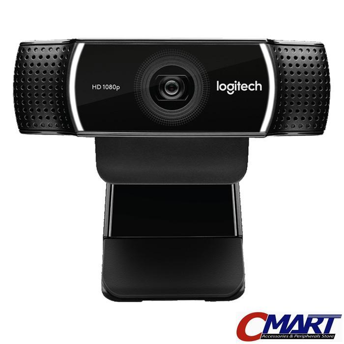 Logitech C922 PRO STREAM Webcam Background Replacement + Tripod