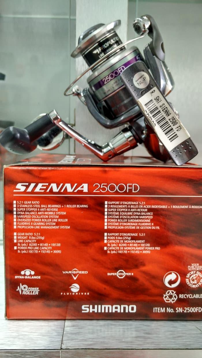 BEST SELLER!!! Reel SHIMANO SIENNA 2500 FD - dyoEBx