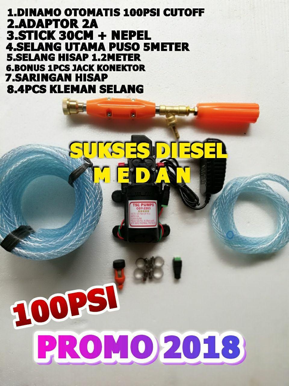 Alat Cuci Motor Mobil AC Jetcleaner Mesin Cuci Steam Doorsmeer Mini 100psi