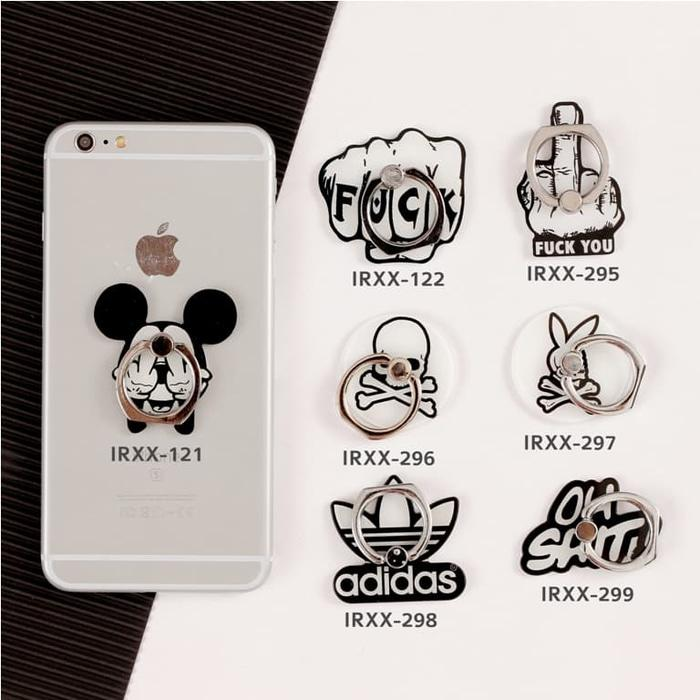 Cartoon iRing/ Ring Holder/ Cincin HP / Ring Stand Karakter Seri 20