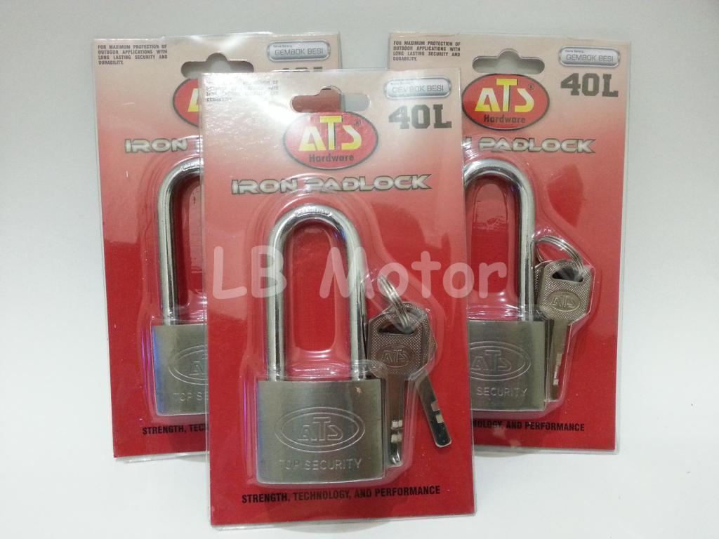 Kunci Gembok ATS 40L Panjang