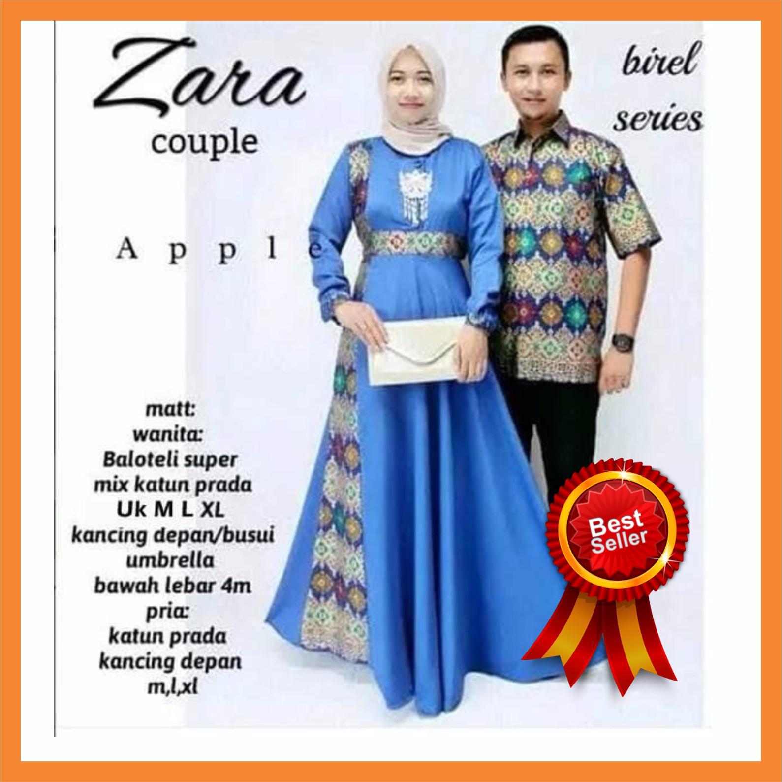 Batik Couple / Baju Couple / Batik Muslim Couple / Batik Couple Keluarga / Batik Keluarga / Batik Modern / Batik Pasangan Original Pengarjin Type Zara Best Seller