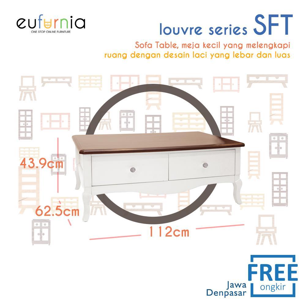Eufunia Olympic Louvre Series Sofa Table Meja Sofa European Series - SFT 0871133