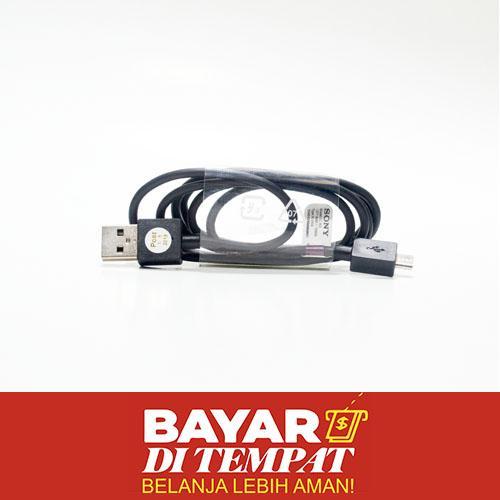 Kabel Data For Sony Xperia EC 801 EC801 EC 803 EC803 Data Cable Kualitas Original ORI - Bisa Untuk Xiaomi Redmi Note 2 3 4 Max Redmi 1 1s 2 2A 3 3S Pro 4A 4 Prime 4X 5 Mi 1 1S Mi 2 2S Mi 3 Mi 4 4i 4c 4s Lenovo A2020 A1000 A7000 A6600 A6000 A5000 K800 K900