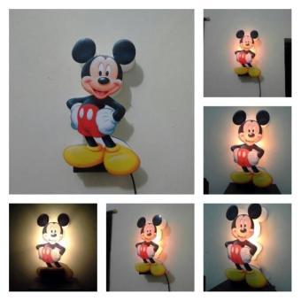 Beli sekarang (Free Ongkir) Lampu Tidur   Hias Karakter Mickey Mouse.  terbaik murah - Hanya Rp255.080 bd7c30352b