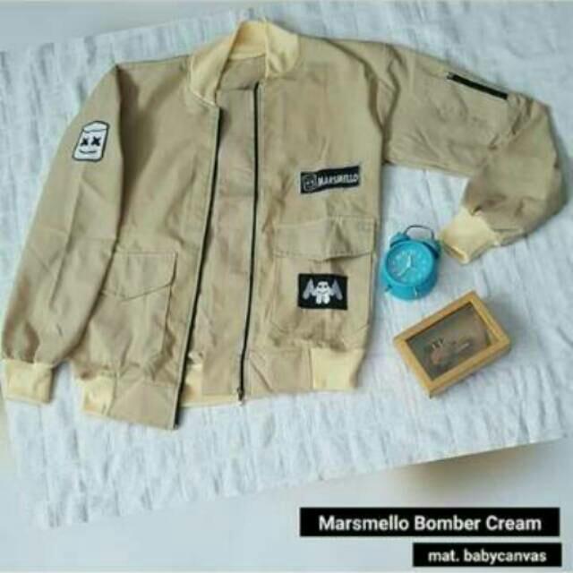 Jaket Marshmello Bomber Marsmello BPS Promo Marsmellow