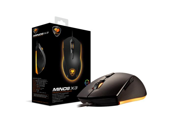 Cougar Gaming Mouse Minos X3 - 8 Color Backlight