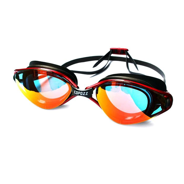 Kacamata Renang HD (Swimming Goggles) Anti-Fog with UV Protection 3550 - Random