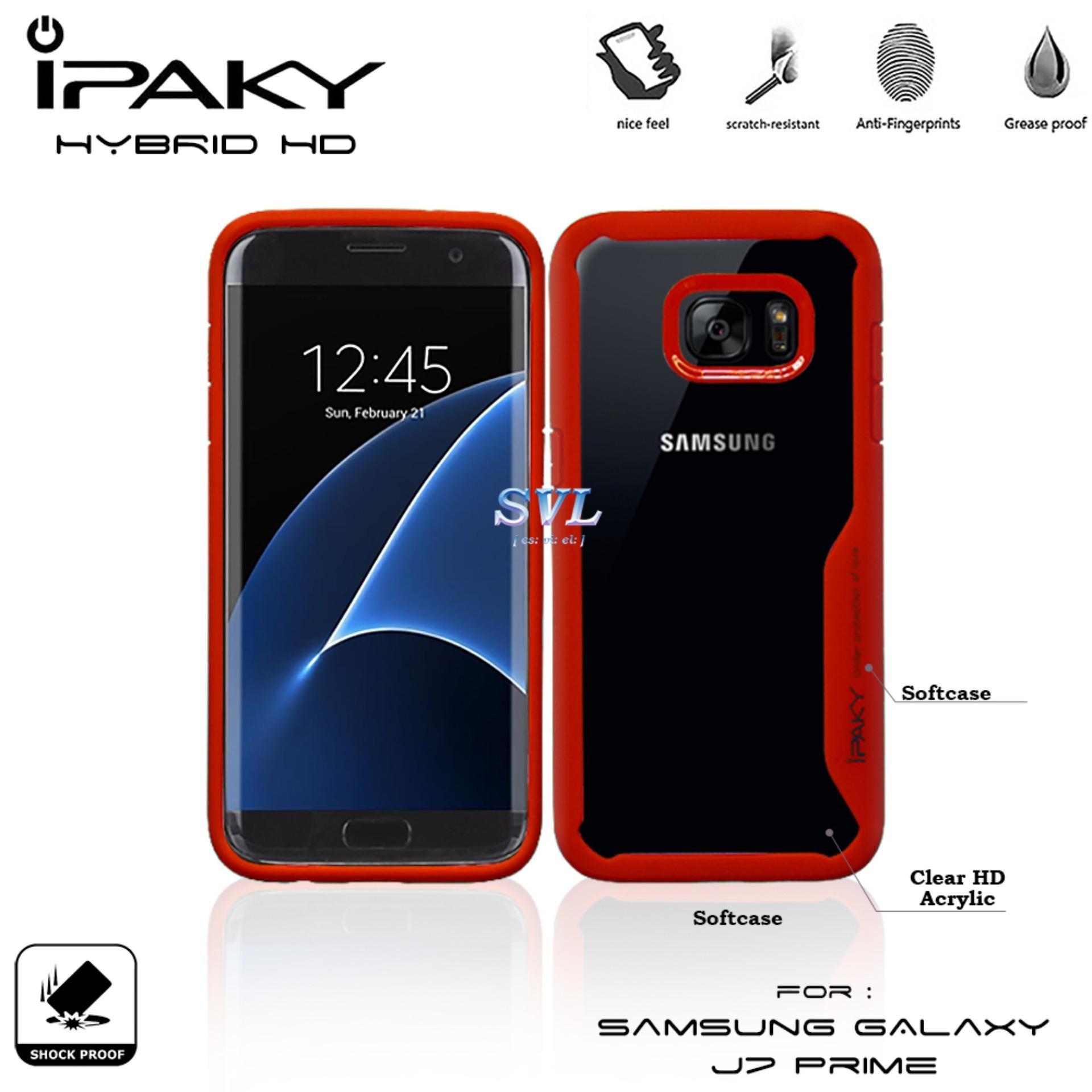 Detail Gambar IPAKY Hybrid HD Acrylic Case for Samsung S7 edge Terbaru