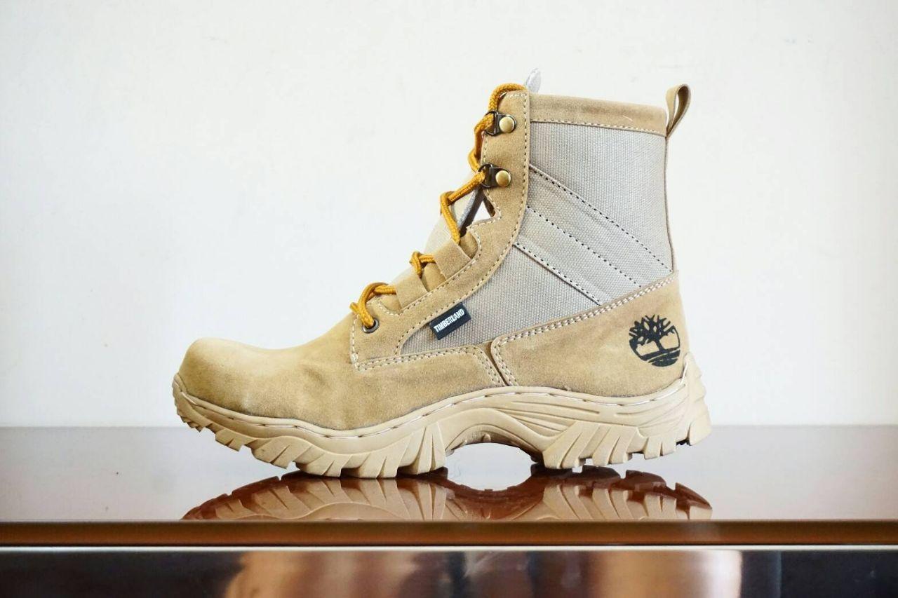 Sepatu Boots Pria Timberland Safety Sepatu Trail / Tracking / Sepatu Anak Motor Size 39-43 Suede