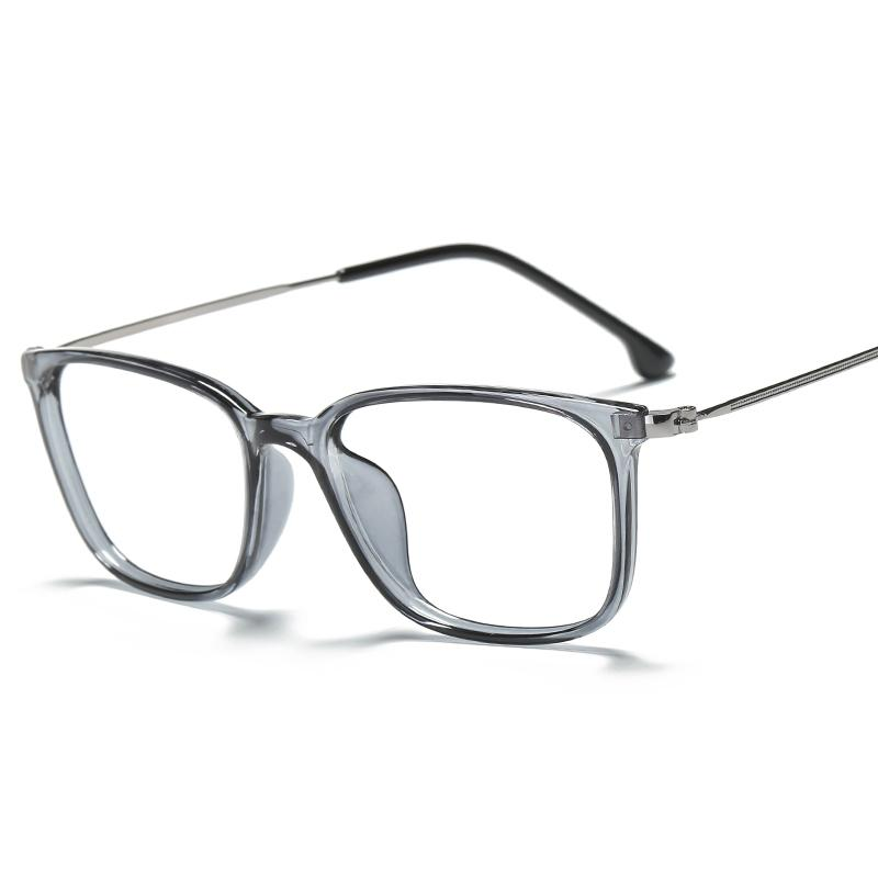 2c68e881a10 Glasses Frame women Korean Style Fashion Metal Legs Vintage Full Frame  Simple Have Alcohol by Volume