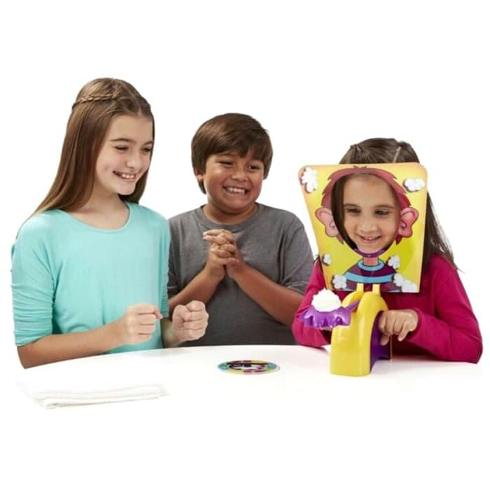 Best Seller Pie Face Cream Running Man Games - Multi-Color