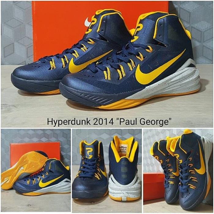 sepatu basket nike hyperdunk 2014 paul george / casual / curry kobe