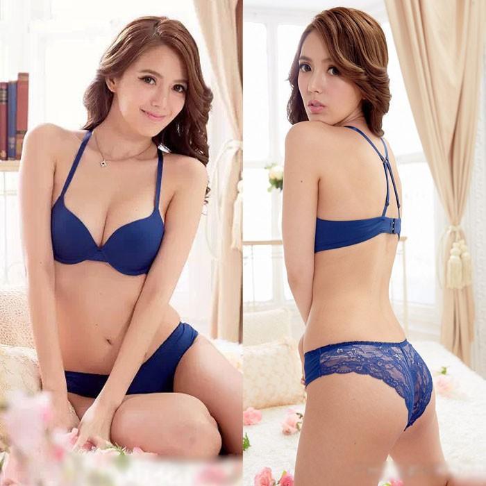 Jual Bra Set Blue size 32B HB0Q04BU-32B Kode Bangsa-ai022