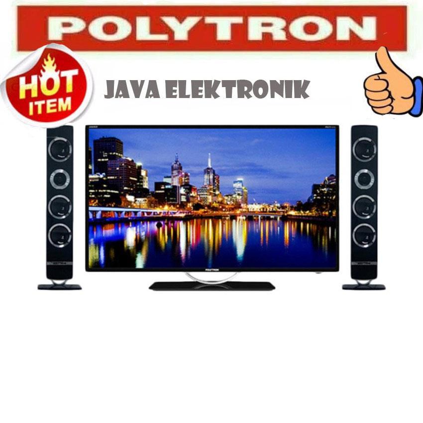 POLYTRON PLD32T7511 CINEMAX TV LED [32 Inch] garansi 5 tahun garansi resmi