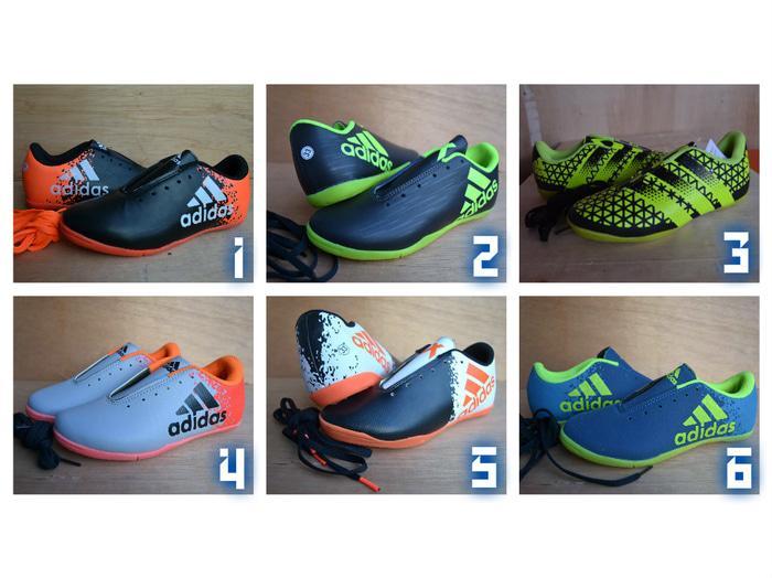 Sepatu futsal adidas anak-anak / sepatu bola messi keren / ready terus