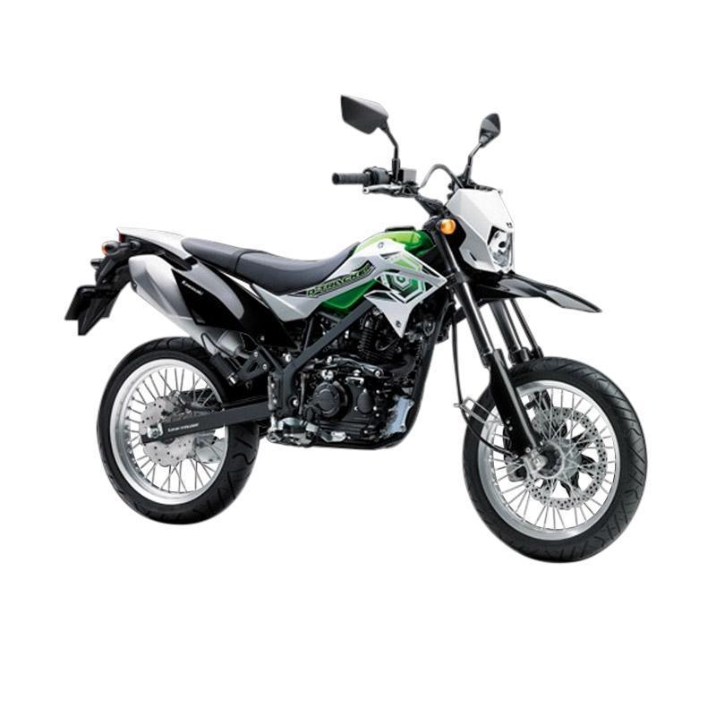 Kawasaki D-tracker [Hijau/Abu] khusus JADETABEK