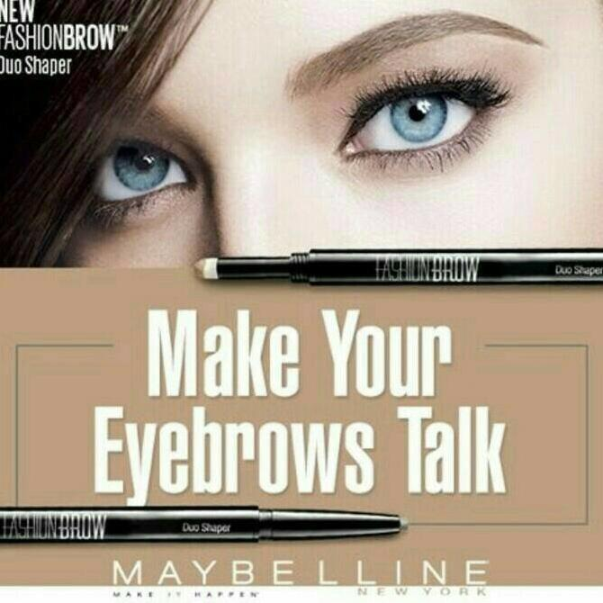 New Maybelline Fashion Brow Duo Shaper (Eyebrow Pencil) -