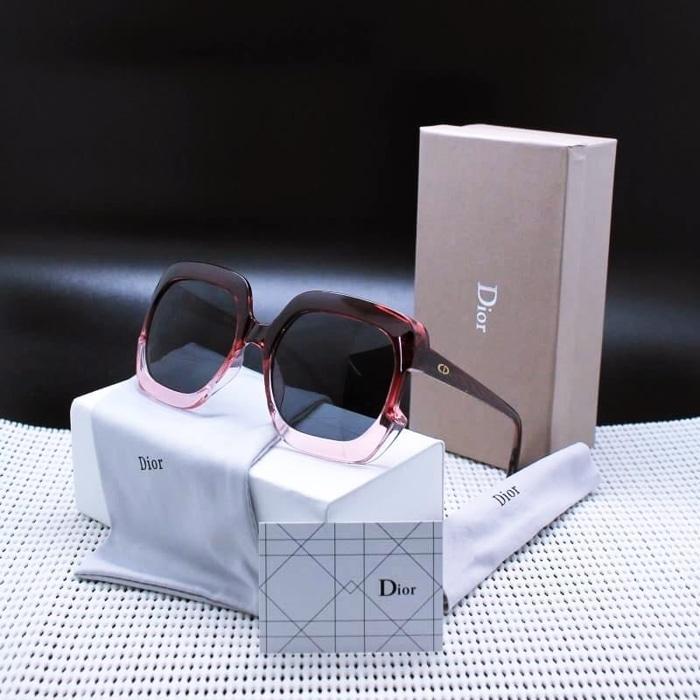 Kacamata / Sunglass Wanita Dior Ay-89218 Fullset + Cairan Pembersih