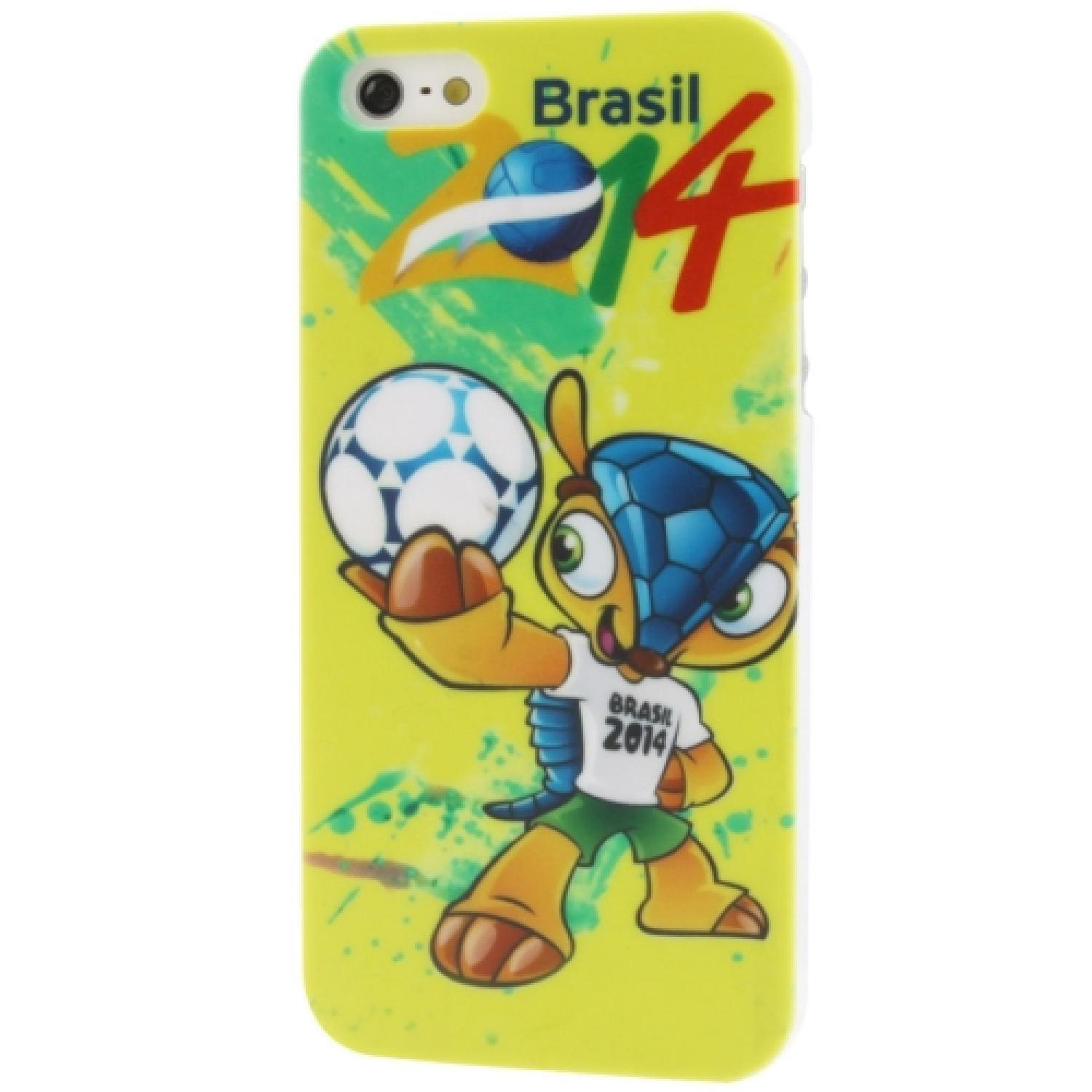 Ultra Slim Plastic Protective Case World Cup Brazil 2014 for iPhone 5/5s/SE Casing HP Murah Terbaru