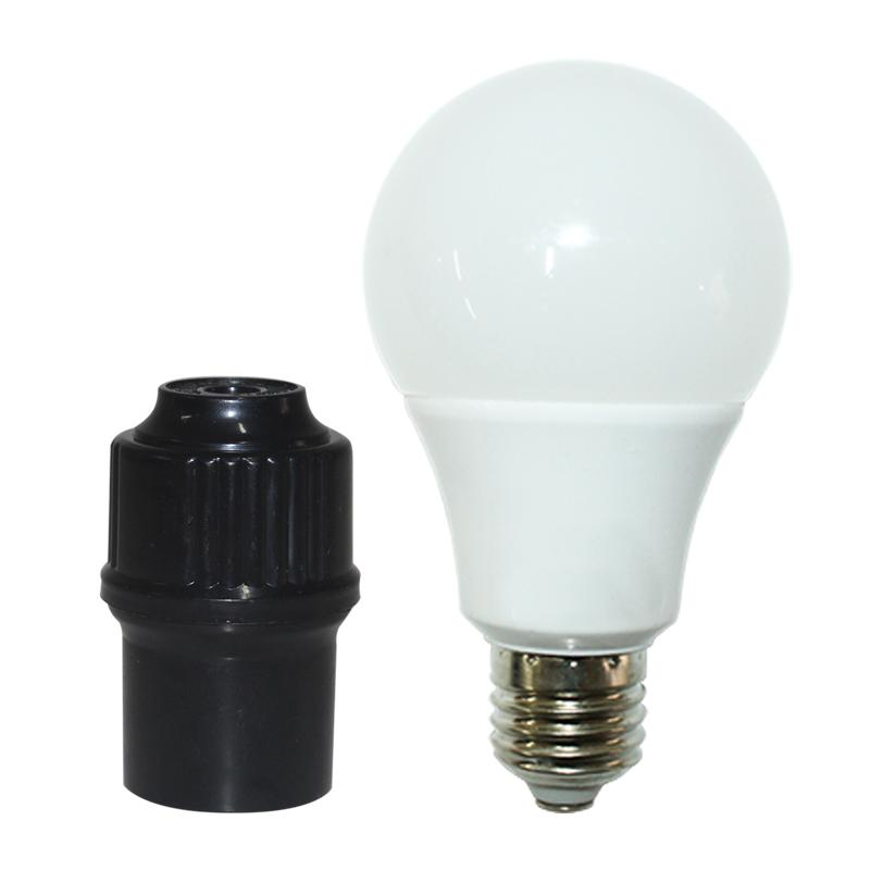 EELIC LFG-SL5W LAMPU SIP LITE CAHAYA TERANG BOHLAM LAMPU LED GLOBE (1 PCS LAU-SL5W) + FITTING GANTUNG LAMPU HIAS GANTUNG KAP LAMPU ( 1PCS FIG-505 HT )