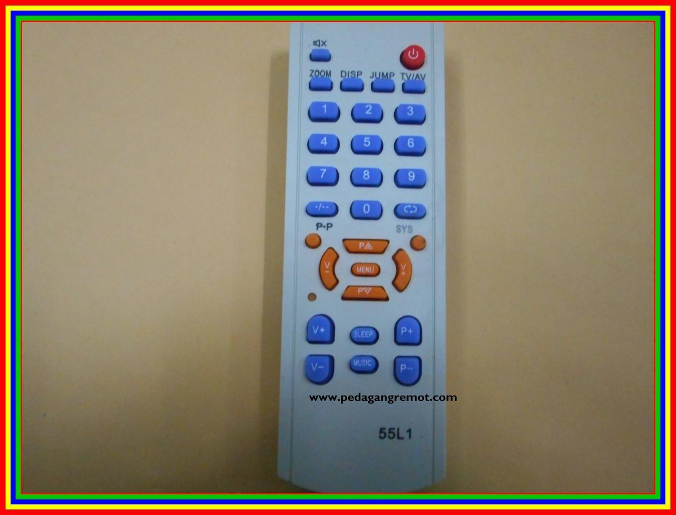 Fitur Remote Tv China 55l1 Dan Harga Terbaru Info Tempat Akari Remot Tabung Cina
