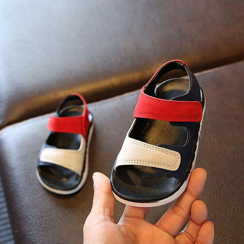 e1ce1d2526b57 boy men Sandals 2019 New Style Korean Style Summer Baby Sandals man 1-3  Years