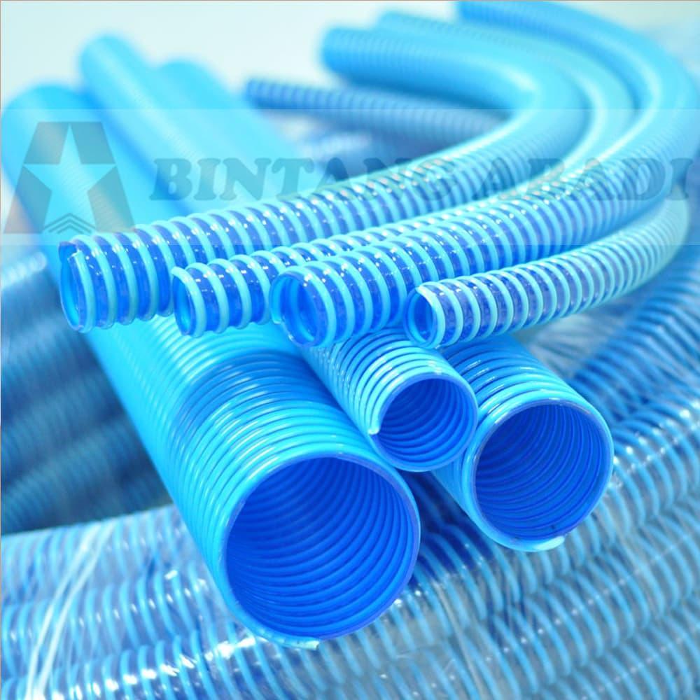 Termurah Milliard Selang Spiral Plastik Biru 2